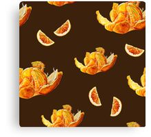 tangerines and chocolate Canvas Print