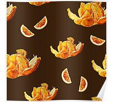 tangerines and chocolate Poster