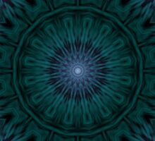 Light Transition Matrix Mandala Sticker