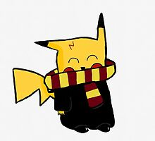 Harry Potter Pikachu Mash Up by CuteAsFrick