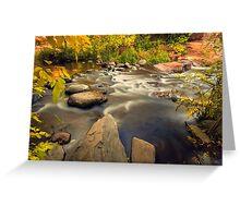 Oak Creek Canyon,Sedona Arizona Greeting Card