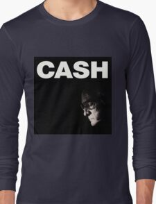 Johnny Cash - The Man Comes Around Long Sleeve T-Shirt