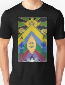 .A Pleasant Arrangement of Icons and Colours #1. Unisex T-Shirt