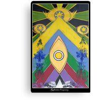 .A Pleasant Arrangement of Icons and Colours #1. Canvas Print
