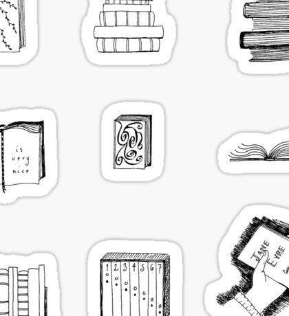 Little Book Sketches Sticker