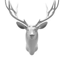 Winter deer by colatudo