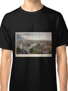 352 New York from the steeple of St Paul's Church looking east south and west Classic T-Shirt