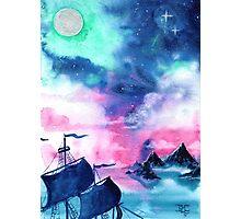 Neverland Sky Photographic Print