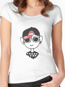Josh Dun Twenty One Pilots Women's Fitted Scoop T-Shirt