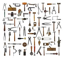 vintage tools by Val Goretsky