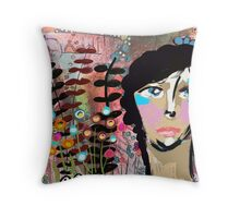 Just Let Me Rest Girl Throw Pillow