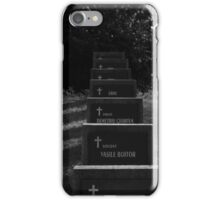 Grave of heroes iPhone Case/Skin