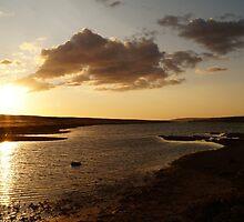 Sunset over The Fleet by ArtemBonda