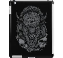 Dark Bison iPad Case/Skin