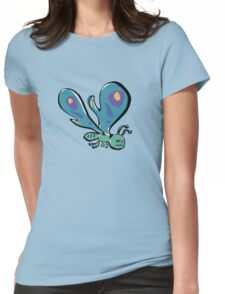 grumpy butterfly Womens Fitted T-Shirt