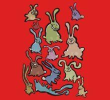 13 bunnies One Piece - Short Sleeve