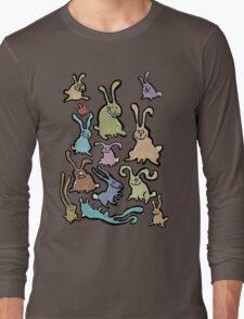 13 bunnies Long Sleeve T-Shirt