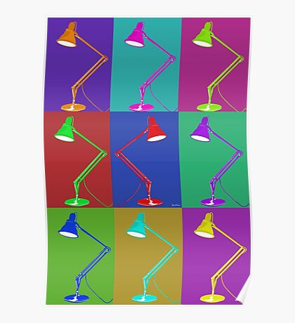 Multi Angle poise Lamp Poster