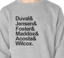 Scream Characters Last Names Pullover