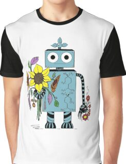 Lina The Robot Graphic T-Shirt