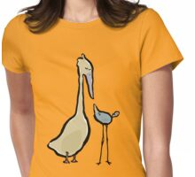 two different birds Womens Fitted T-Shirt
