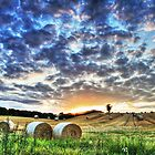 Old Linslade Sunset - 20th Aug 2014 by Dale Rockell