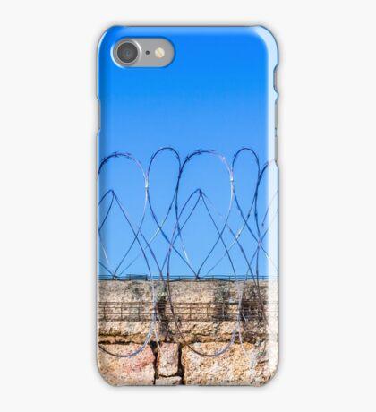 A cruel view? iPhone Case/Skin