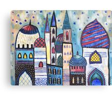 Eastern City Canvas Print