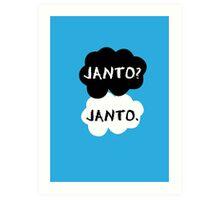 Janto - TFIOS Art Print