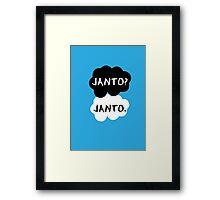 Janto - TFIOS Framed Print
