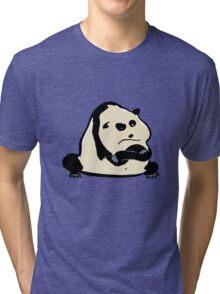 panda bear Tri-blend T-Shirt