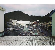 Nanfang'ao Fish Harbor, taiwan Photographic Print