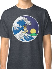 The Great Wave of Alola (Night) Classic T-Shirt