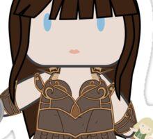 Fight Like a Girl - Warrior Princess Sticker