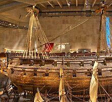 Vasa warship by João Figueiredo