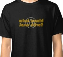 WWJD Volkswagen what would Jesus drive? Classic T-Shirt