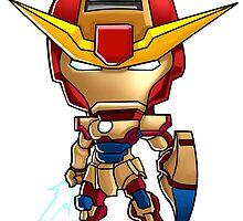 Iron Gundam by wenart