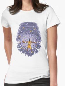 kobe bryant Womens Fitted T-Shirt