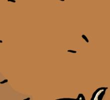 furball of horror Sticker