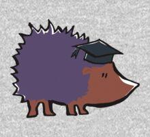 educated hedgehog Kids Clothes