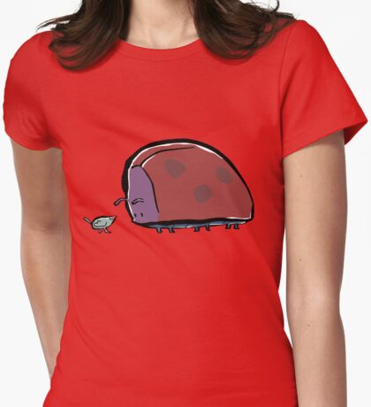 big bug Womens Fitted T-Shirt