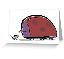 big bug Greeting Card