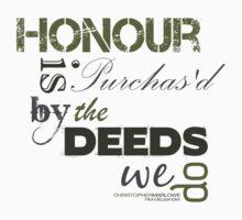 Marlowe Hero & Leander Honour Quote  One Piece - Short Sleeve