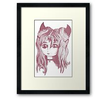 TRIPPY Little Devil Framed Print