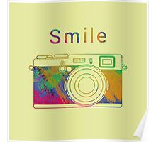 Smile on the camera Poster