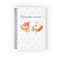crying dessert Spiral Notebook