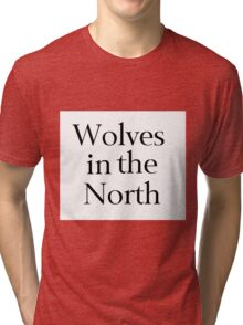 Wolves of the North Tri-blend T-Shirt