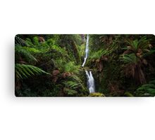 Quaille Falls Panorama Canvas Print