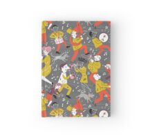 Mid Century Marching Band Parade Hardcover Journal