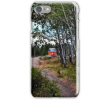 Vintage Volkswagen Bus in the Forest iPhone Case/Skin
